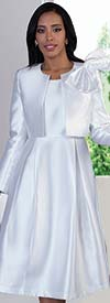 Chancele 4637 - Dress Suit With Detachable Bow On Jacket