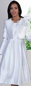 Clearance Chancele 4637 - Dress Suit With Detachable Bow On Jacket