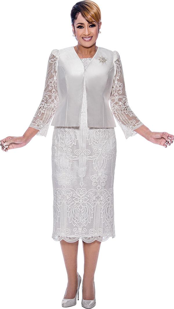 DCC - DCC2752 Lace Illusion Design Dress with Jacket