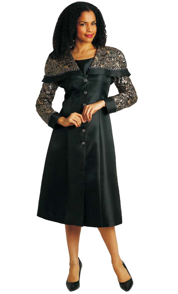 Diana 8182 - Jacket And Dress Set With Over Shoulder Sequined Detail