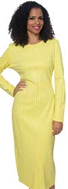 Diana 8303 - Long Sleeve Pencil Dress