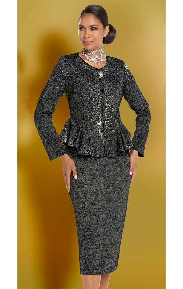 Womens Church Suit By Donna Vinci 13245 Fall 2018