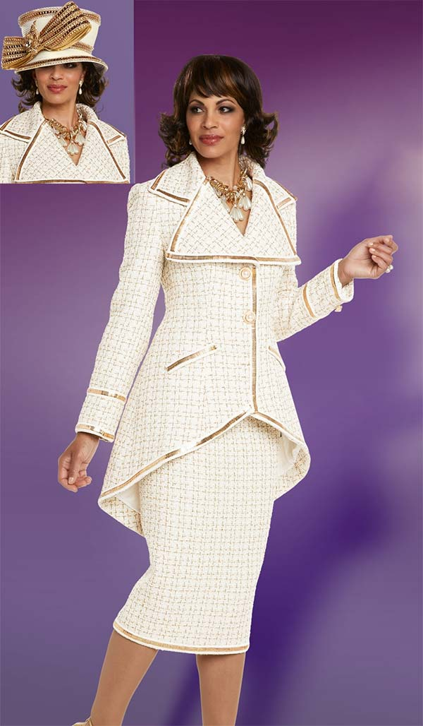 Womens Church Suit By Donna Vinci 5598 Fall 2018 Expressurway