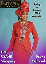 f5edb100a5035 Donna Vinci Knits - Womens Church Suits - Spring 2019 - ExpressURWay