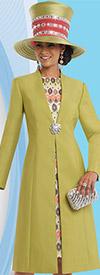 Clearance Donna Vinci 5552 Womens Dress Set With Long Jacket