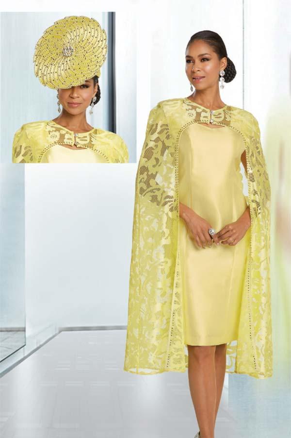 Donna Vinci 5628 Womens Two Piece Dress And Cape Jacket Set