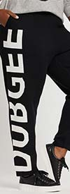 Dubgee 4014-1A - Womens Fine Knit Pant With Logo