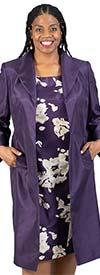 John Meyer 839184 Floral Print Dress & Duster Jacket Set