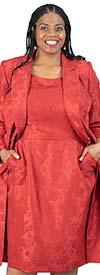 John Meyer 879H186 Womens Dress & Duster Jacket Set With Pockets