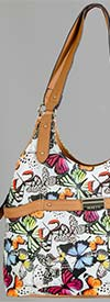 Rosetti 11EFA56RSJW-Marbled Wings - Womens Butterfly Print Handbag