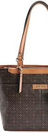 Rosetti 11HKB89RSJW-Pin Dot Dark Brown -Womens Handbag