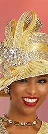 Ben Marc 48323H - Womens Rhinestone Embellished Hat