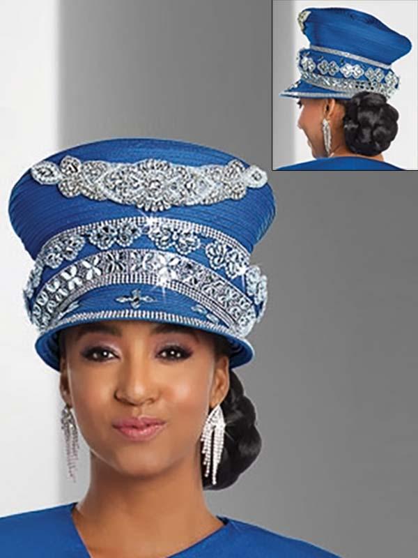 Donna Vinci 11754H Womens Rhinestone Adorned Hat