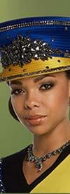 Donna Vinci 11772H Womens Colored Rhinestone Hat