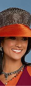 Donna Vinci 11776H Womens Embellished Hat