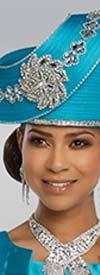 Donna Vinci 11797H  Womens Hat With Rhinestones