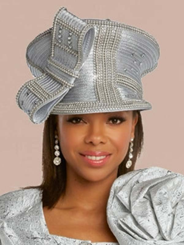 Donna Vinci 5673H  Womens Embellished Formal Church Hat