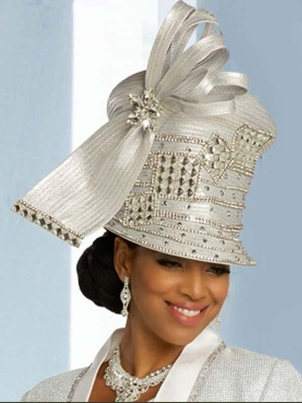 Donna Vinci 5688H Womens Embellshed Formal Hat