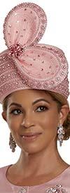 Donna Vinci 11915H Embellished Womens Brimless Church Hat