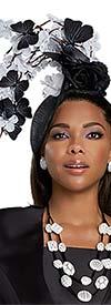 Donna Vinci 11927F Womens Fascinator Hat In Butterfly & Flower Design