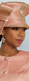 Donna Vinci 5664H Womens Embellished Church Hat