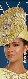 Donna Vinci 5628H Church Hat Lemon