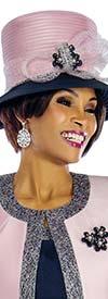 Terramina 7637H-Pink - Womens Church Hat