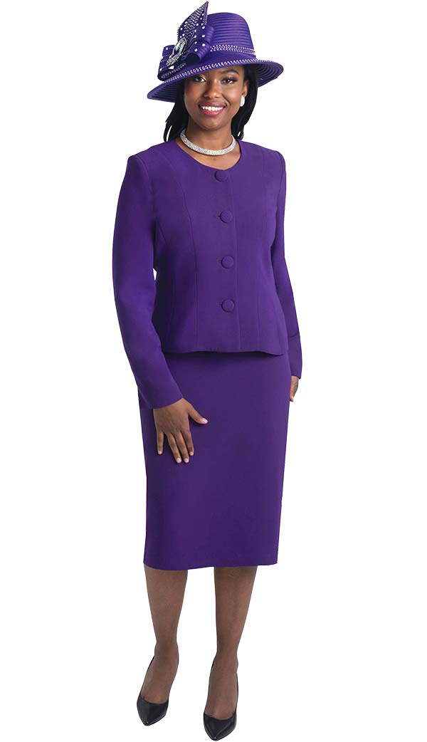 Lily and Taylor 2920 - Womens Two Piece Basic Skirt Suit