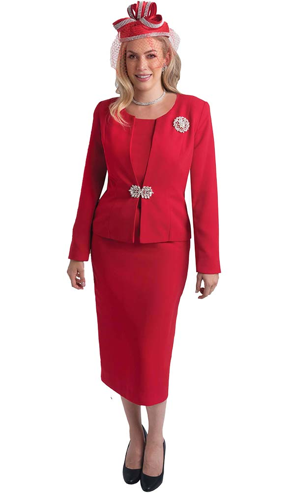 Lily and Taylor 3052 - Womens Three Piece Classic Church Suit