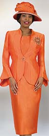Lily and Taylor 4140 - Three Piece First Lady Church Suit With Flared Cuffs