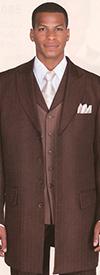 Longstry New York 3106V Mens Zoot Suit With Herring Bone Fabric