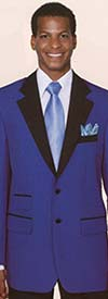 Clearance Longstry New York 7022 High Fashion Mens Suit With Ticket Pocket
