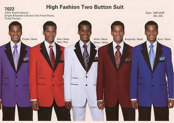 Longstry New York 7022 High Fashion Mens Suit With Ticket Pocket
