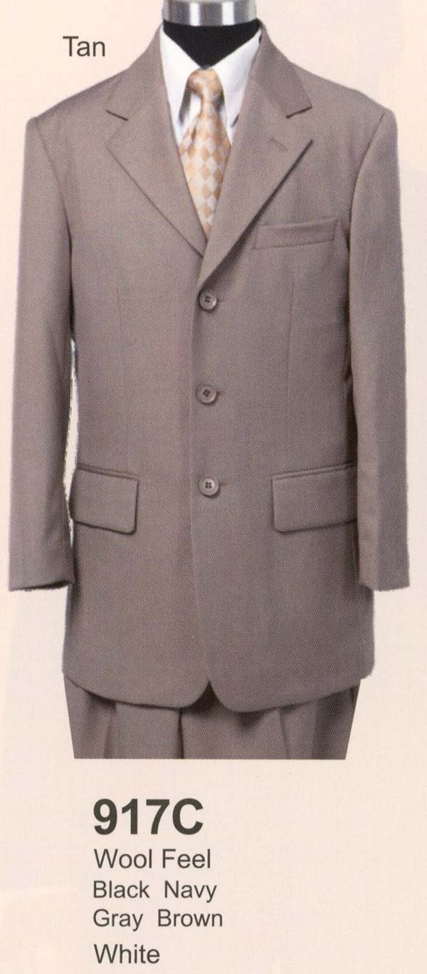 Longstry New York 917C Boys Church Suit With Three Buttons
