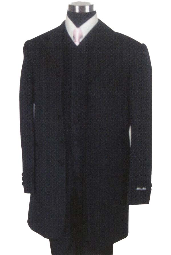 Longstry New York BL-907V Boys Church Suit With Vest
