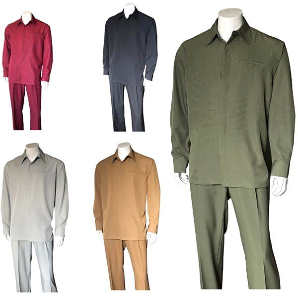Longstry M2763 Mens Long Sleeve Leisure Walking Suit