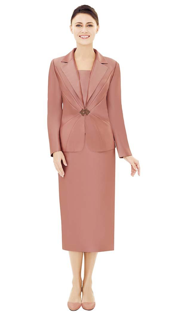 Nina Massini 2533 Notch Lapel Jacket & Skirt Set