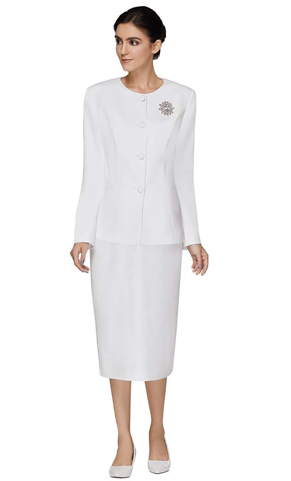 Nina Massini 3301 Ladies Church Suit With Four Button Jacket