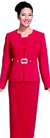 Nina Massini 2265 Three Piece Classic Womens Church Suit