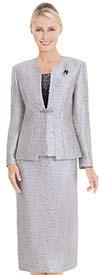Nina Massini 2575 Womens Church Suit With Embellished Camisole