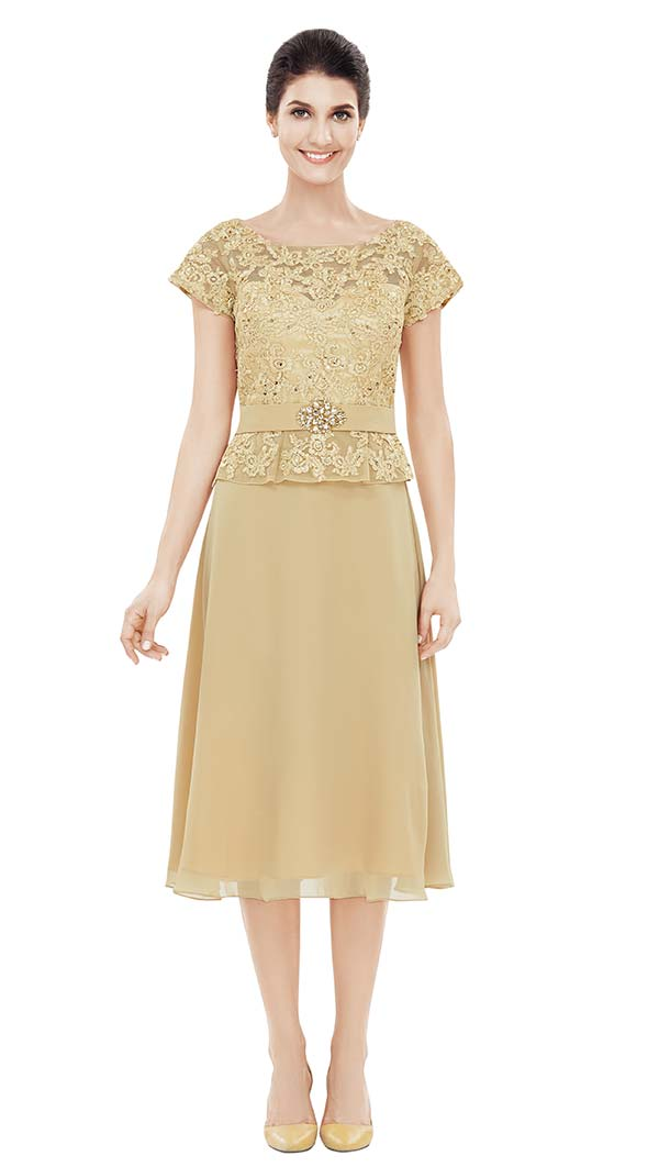 Nina Nischelle 2826 Lace & Chiffon Dress