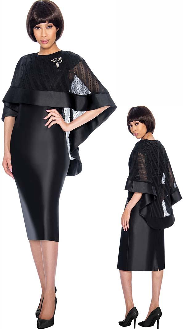 Nubiano Dresses DN3192 Cape Design Dress