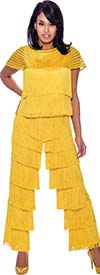 Rose Collection RC935  Womens Fringe Design Pants