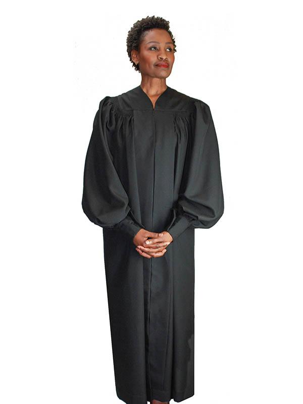 Regal Robes RR-9071 Black Church Robe