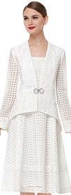 Serafina 3833 Womens Jacket Dress In Organza Lace Fabric