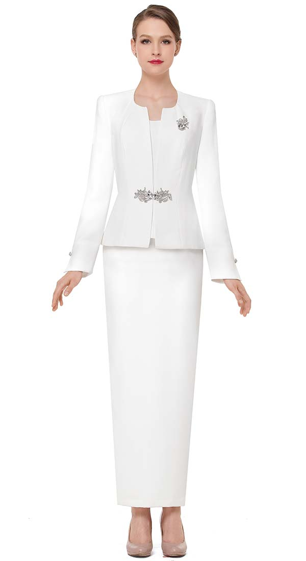 Serafina 3864 Ladies Classic Church Outfit With Long Skirt