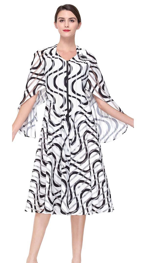 Serafina 6189 A-Line Dress With Angel Sleeves