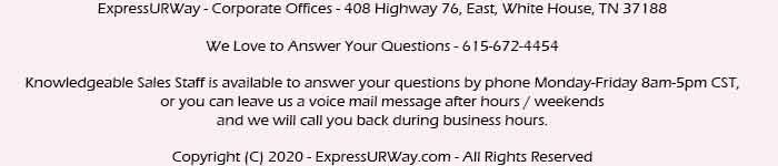 ExpressURWay Contact Information