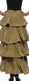 Why Dress - S180601B - Womens Multi Tiered Skirt
