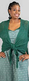 Skye's The Limit 38860 - Womens Tie Front Sweater Cardigan